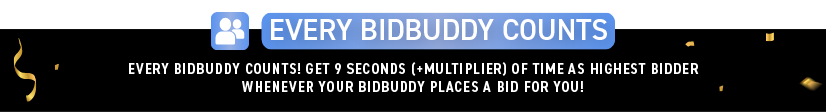 Explanation of how Every BidBuddy Counts works on DealDash.