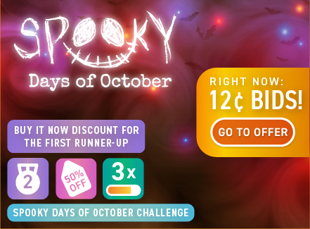 Spooky Days of October deals are great on DealDash this year