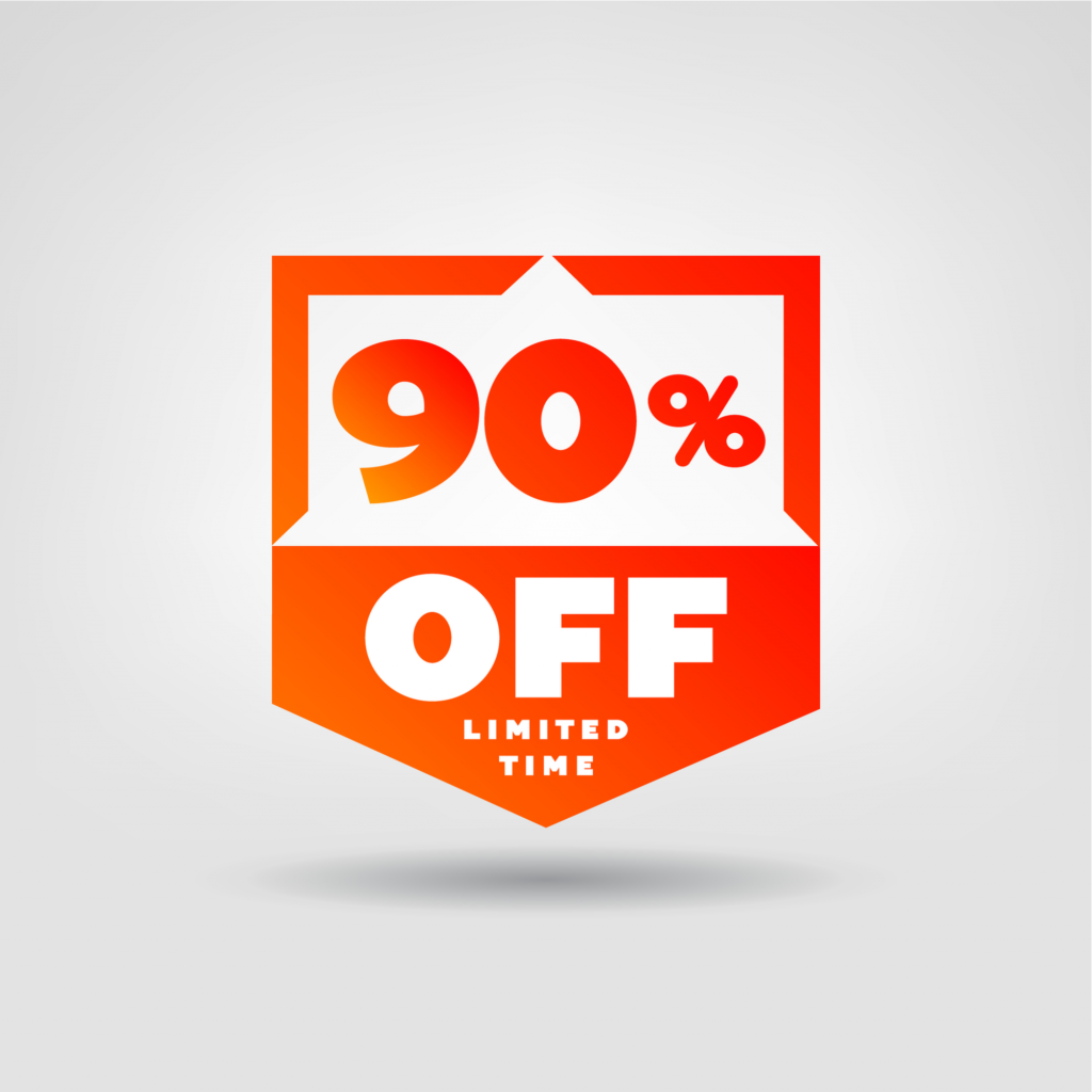 A promotional graphic advertises savings of up 90% off for DealDash's Black Friday sale.