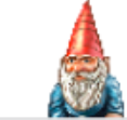 The cartoon garden gnome shown here used to be our most popular avatar.