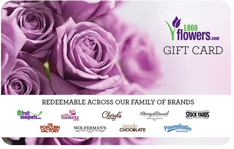 A gift card for 1-800-Flowers-com is very useful for getting the perfect gift this MOther's Day.
